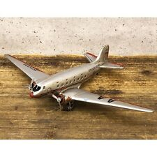 model vintage tin plate Silver airplane free shipping!F0140-1A