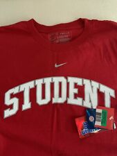 Nike Hombre NCAA Ohio State Buckeyes cuerpo estudiantil Camiseta Camiseta XL Nuevo