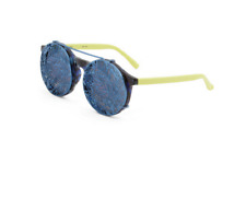 Linda Farrow Matthew Williamson Sunglasses with Clip-On Frame in Midnight Blue