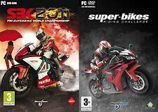 sbk 2011 superbike world champ  NEW&SEALED & super bikes riding challenge  USED