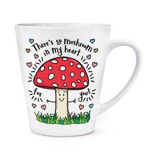 C'è così FUNGO nel mio cuore per te 12 OZ (ca. 340.19 g) Latte Macchiato tazza-FUNNY VALENTINE'S