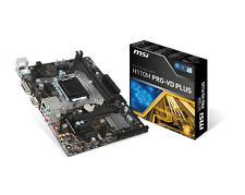 MSI H110M PRO-VD PLUS - mATX Motherboard for Intel Socket 1151 CPUs
