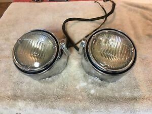 1950-51 Cadillac Fog Light Assembly (Pair)