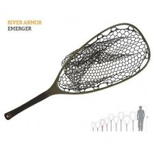 FISHPOND NOMAD RIVER ARMOR EMERGER LANDING NET WITH KEVLAR, CARBON, RUBBER BAG
