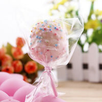 100x Cello Clear Display Sweet Lollipop Cute Cake pop Favor Party Treat Bags