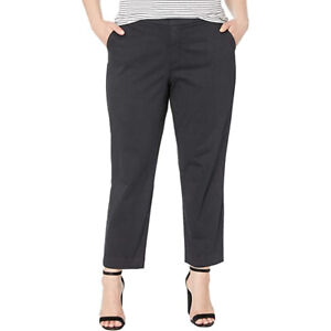 NYDJ Plus Size Plus Size Everyday Trouser, Black, 18W