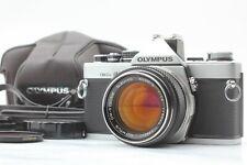 [ALMOST MINT w/Case] Olympus OM-2N 35mm SLR w/G.Zuiko Auto-S 50mm f1.4 JAPAN