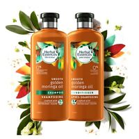 Herbal Essences d'or l'huile de Moringa lisse shampooing +Conditioner, 2x400 ml