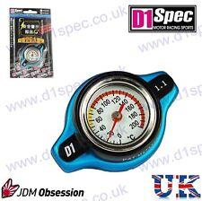 D1 Spec Racing Tapa Del Radiador 1.1 utilizado con temperatura indicador azul pequeño Cabeza Jdm