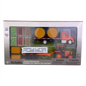 Kubota Truck & Tractor Set 1:43 Scale Model 77700-03894