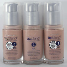 Covergirl Trublend Liquid Foundation 3 Pack 425 Buff Beige