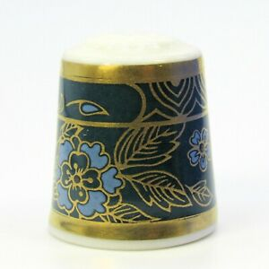 COLLECTABLE FINE CHINA THIMBLE CARLYLE BY ROYAL DOULTON