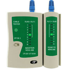 RJ45 RJ11 Cat5e Cat6 7 Network LAN Ethernet UTP STP PC Cable Tester Testing Tool