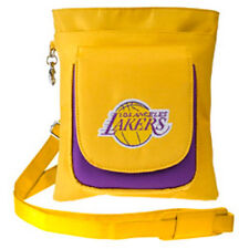 New NBA Travel Hipster & Crossbody Bag Licensed LOS ANGELES LAKERS Embroidered