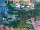 Water Lilies (version 2) by Claude Monet, Giclee Canvas Print, in various sizes