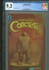CONCRETE 10 PAUL CHADWICK STORY, COVERS & ART BEST & ONLY CGC NM- 9.2 WHITE