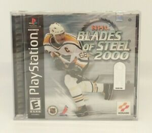 NHL Blades of Steel 2000 (Sony PlayStation 1 PS1) Brand New, Factory Sealed NM