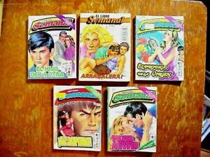 5 SEMANAL  Mexico ROMANCE Adventure COMIC BOOKS