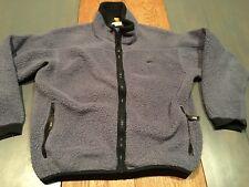 REI Mens Large Zip Up Fleece Jacket Warm Chunky Soft Shell Polartec Winter VTG
