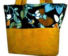 Sanderson & Imitation Suede Tote Shopper Bag 4uni/college/school/work/holiday
