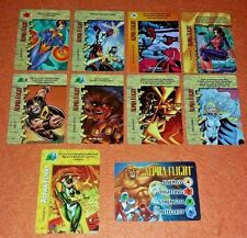 Overpower Alpha Flight Set hero 8 sp 1 Marvels Shaman Sasquatch Monumental