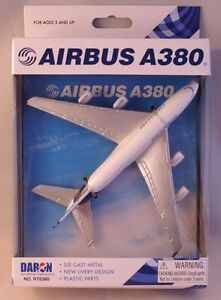 Daron Airplane Model Airbus A380 RT0380