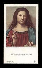 "santino-holy card""""ediz. FB ARTE  n.70 IL REDENTORE BENEDICENTE"