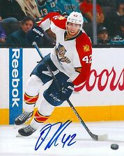 QUINTON HOWDEN signed FLORIDA PANTHERS 8X10 PHOTO COA A