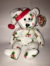"TY BEANIE BABY Beanie Babies ""1998 HOLIDAY TEDDY"" ORIGINAL RETIRED RARE NEW"