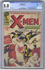 X Men #1 CGC 5.0 VINTAGE Marvel Comic Lee Kirby KEY 1st Original Team & Magneto
