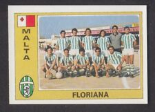 Panini - Euro Football 76/77 - # 186 Floriana - Malta