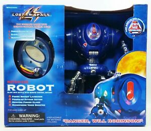 1997 Trendmasters Lost In Space Motorized Remote Control Robot No. 31192 NRFB