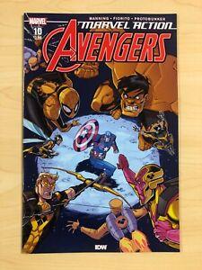 Marvel Action Avengers 10 Main Yellow Hulk 2020 IDW 1st Print VF 8.0-8.5ish