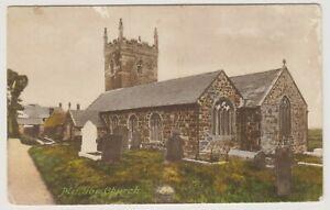 Cornwall postcard - Mullion Church (A2009)