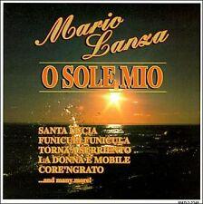 O SOLE MIO BY MARIO LANZA (CD, Apr-1995, Madacy)