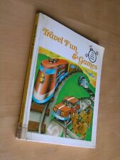 Book, Travel Fun & Games Fun Play and Do Books Regensteiner Publishing @1974