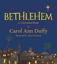 Bethlehem: A Christmas Poem by Carol Ann Duffy (Hardback, 2013)