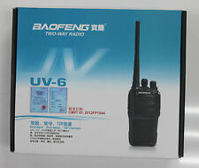 BAOFENG New UV-6 VHF/UHF136-174/400-470MHz Dual Band Radio V6 Walkie Talkie
