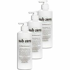 Sub Zero Cool Pain Relieving Gel 16 oz pump -- 3 pack ! + Free Shipping!
