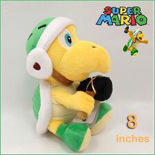 "Hammer Bro Super Mario Bros Koopa Troopa peluche jouet poupée souple animal en peluche 8"""