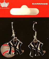 """New York Yankees Dangle Earrings - """"MINCO"""""""