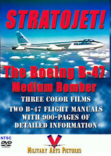 The Boeing B-47 Stratojet DVD: Two color films & two B-47 manuals