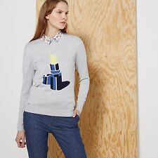 Lacoste L!VE LONG SLEEVE LIPSTICK GRAPHIC SWEATER - $195