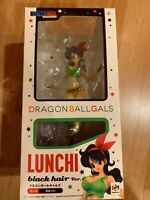 Dragon Ball Gals DBZ Lunchi Figure Black Hair Ver. Megahouse Model Toy in Box
