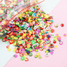 5000pc Nail Art 3D Fruit Smiley Face Fimo Slice Clay DIY Tips Sticker Decoration