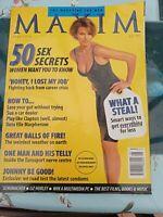 Vintage Maxim Magazine May 1996 Number 13 Helena Cristensen postage free!