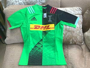 Adidas Harlequins Rugby Union Away Shirt 2018-19 Size Large Brand New With Tags