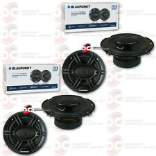 4 x BLAUPUNKT 6.5-INCH 4-WAY CAR AUDIO COAXIAL SPEAKERS 6-1/2