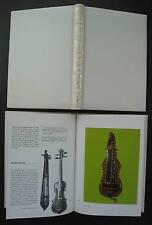 Les Instruments de musique. MUSICAL INSTRUMENTS MUSIKINSTRUMENT. Album Avanti.