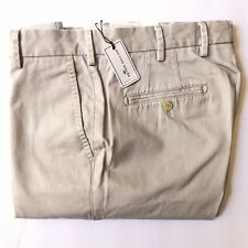 Peter Millar Men's 32/36 Raleigh Washed Twill Pima Cotton Sport Gray Pants